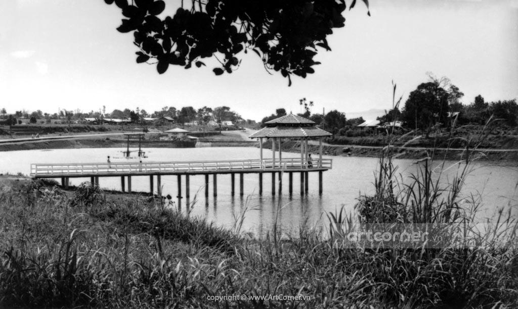 Bảo Lộc xưa - Hồ Đồng Nai - Đồng Nai lake - Bảo Lộc - 1967