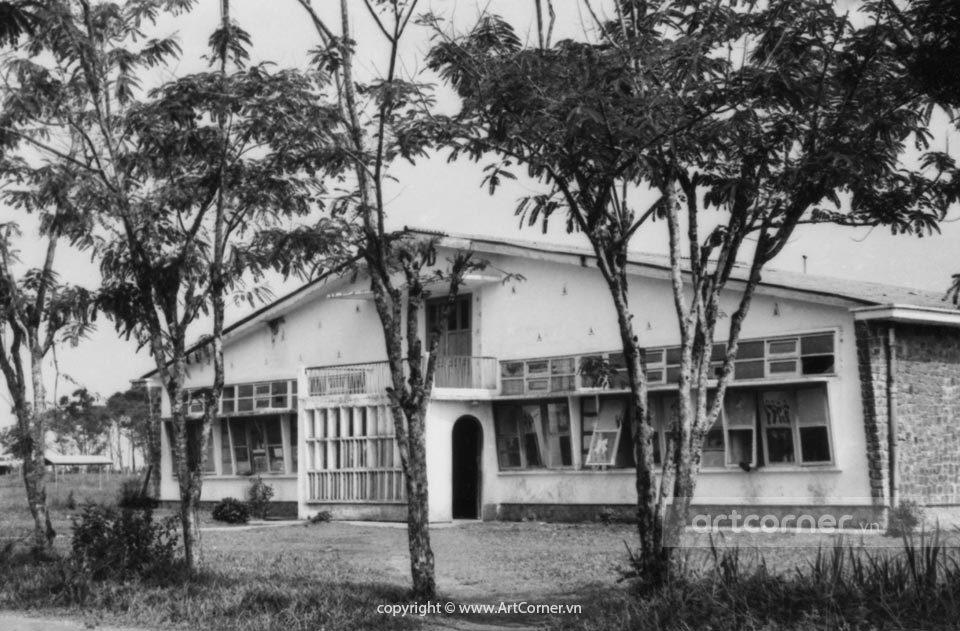 Bảo Lộc xưa - Trường Quốc Gia Nông Lâm Mục - National College of Agriculture - Bảo Lộc - 1965