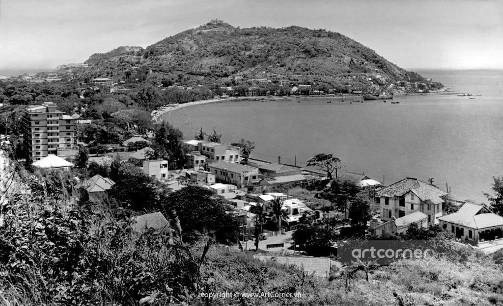 Vũng Tàu xưa - Bãi Trước - Front Beach - Vũng Tàu - 1969