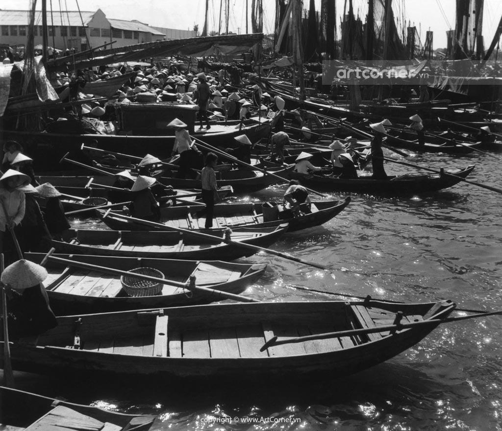 Phan Thiết xưa - Cảng cá Phan Thiết - 1962