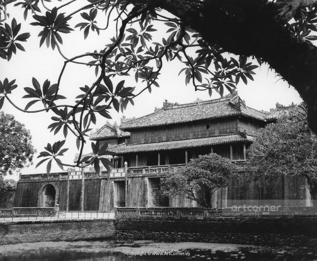 Huế xưa - Cửa Ngọ Môn - Ngọ Môn Gate - Huế - 1961