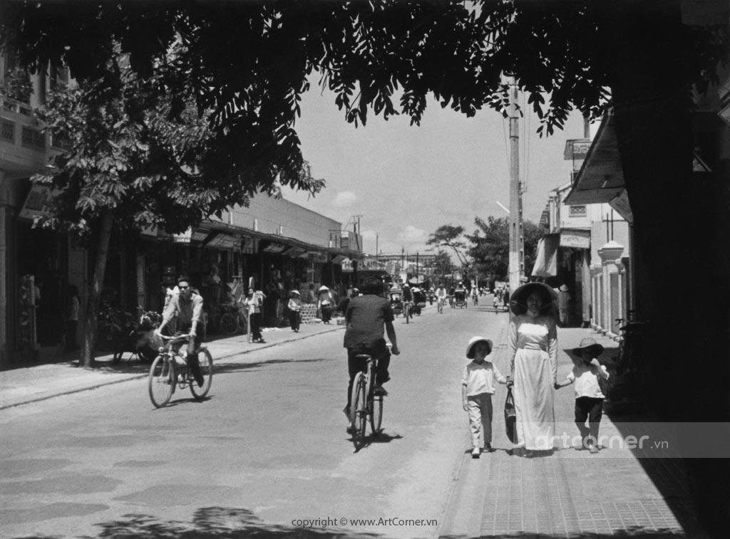 Phan Thiết xưa - Đường phố xưa ở Phan Thiết - 1959