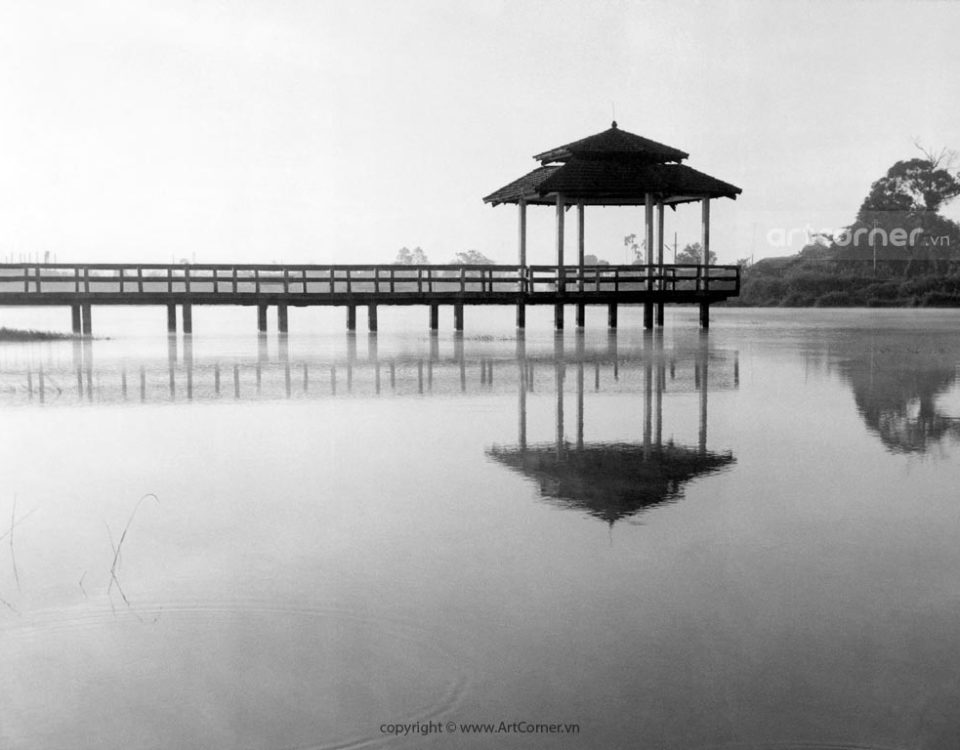 Bảo Lộc xưa - Đồng Nai lake - Hồ Đồng Nai - 1965