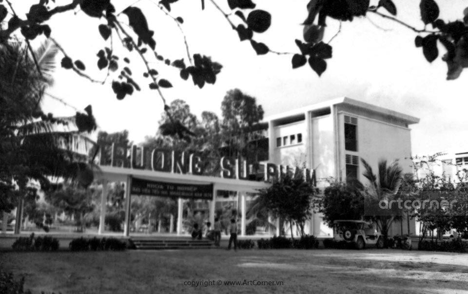 Quy Nhơn xưa - Trường Sư phạm Quy Nhơn - Quy Nhơn Pedagogy School - 1974