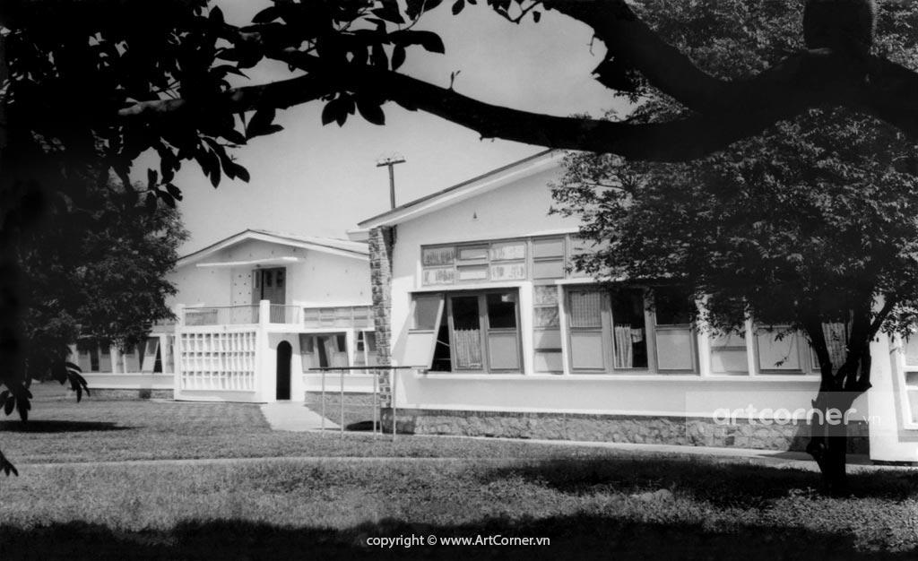 Bảo Lộc xưa - National College of Agriculture - Trường Quốc Gia Nông Lâm Mục - 1965