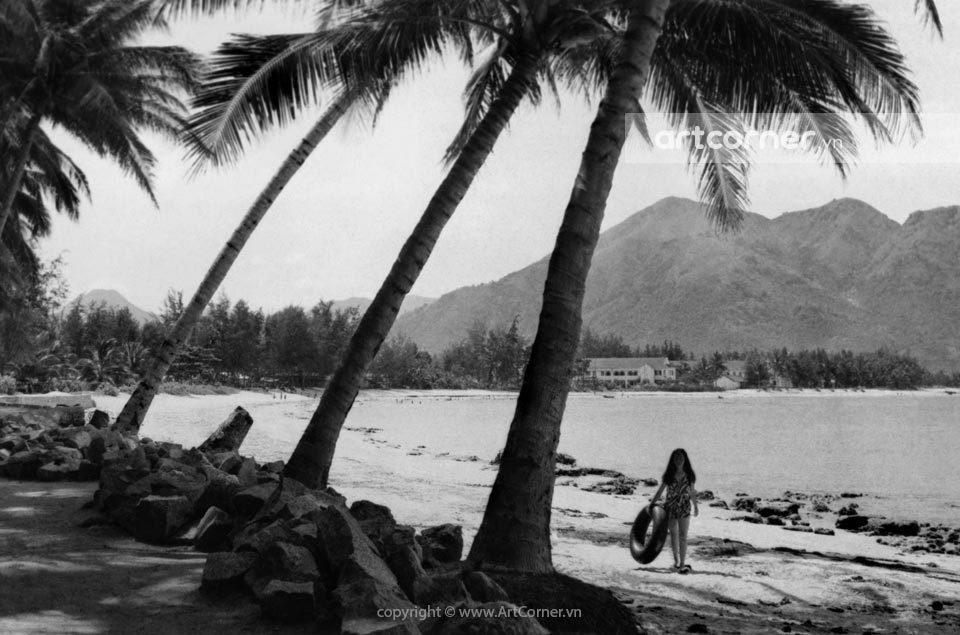 Nha Trang xưa - Dương Beach (Poplar Beach) - Bãi Dương - Nha Trang - 1968