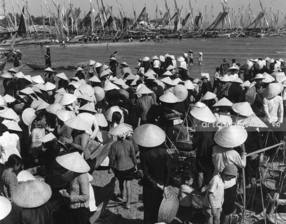 Nha Trang xưa - Fishing dock - Bến cá - Nha Trang - 1957