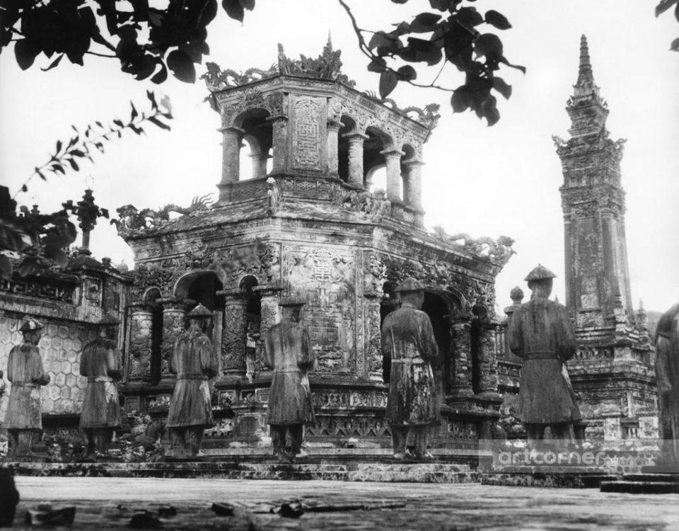 Huế xưa - Bi Đình ở Lăng Khải Định - Huế - 1961