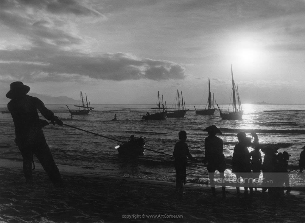 Nha Trang xưa - Nha Trang Beach - Biển Nha Trang - 1959