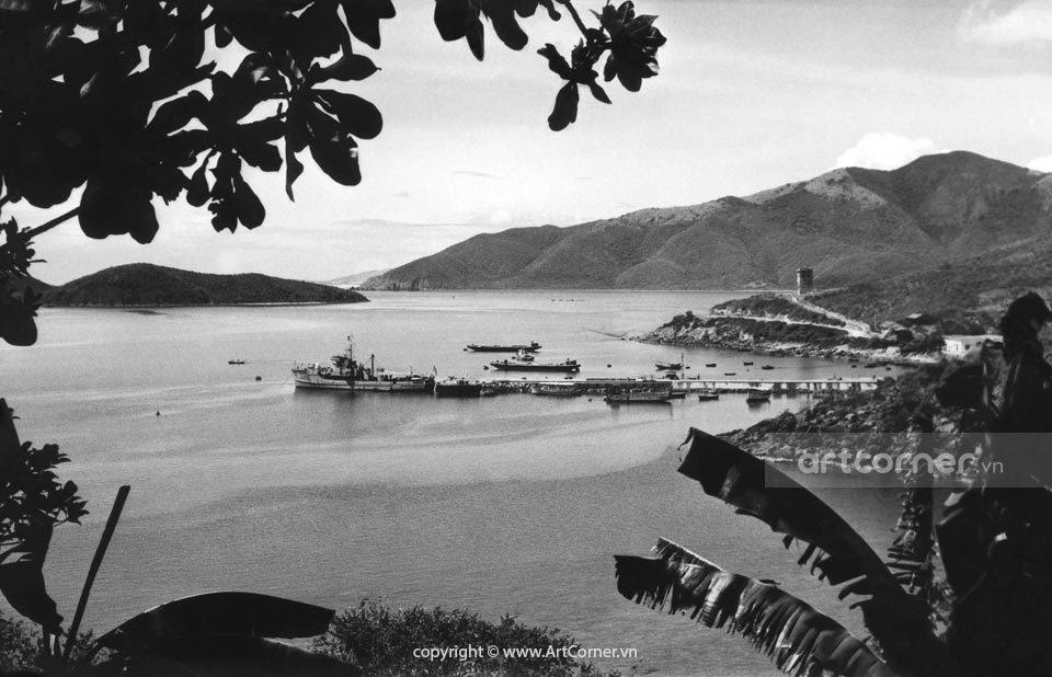 Nha Trang xưa - Đá Bridge - Cảng Cầu Đá - Nha Trang - 1959