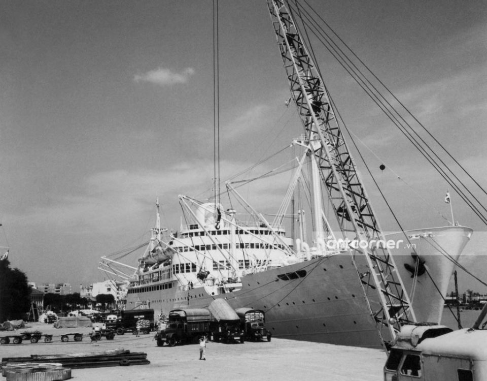 Sài Gòn xưa - Sài Gòn Port - Cảng Sài Gòn - 1957