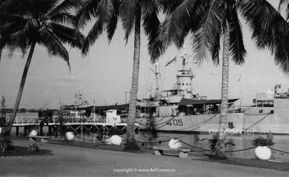 Sài Gòn xưa - Sài Gòn Port - Cảng Sài Gòn -1960s
