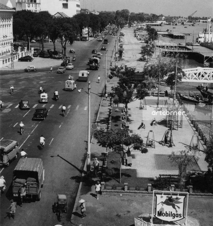 Sài Gòn xưa - Bạch Đằng Pier - Bến Bạch Đằng - Sài Gòn - 1959