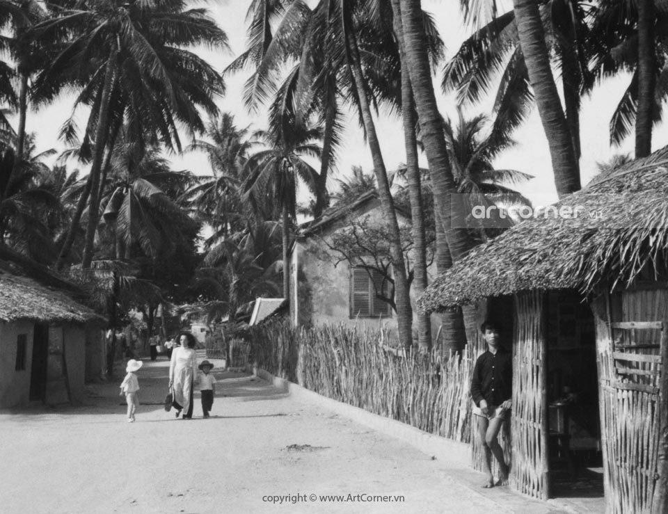 Nha Trang xưa - Cảnh làng quê - Việt Nam countryside - Nha Trang - 1959