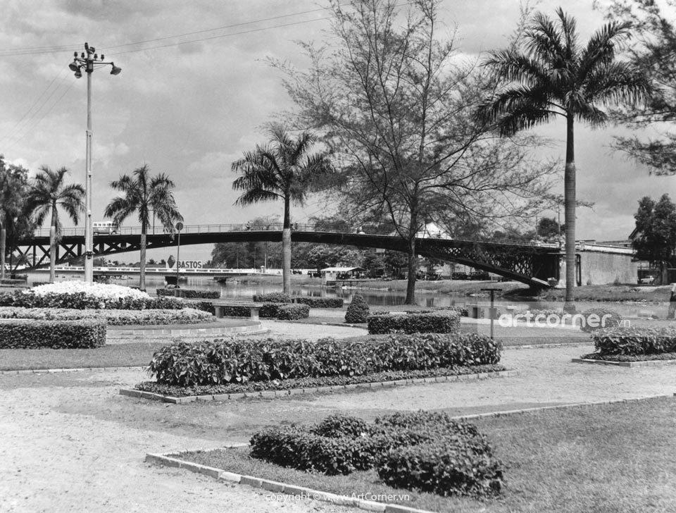 Sài Gòn xưa - Mống Bridge - Cầu Mống - Sài Gòn - 1959