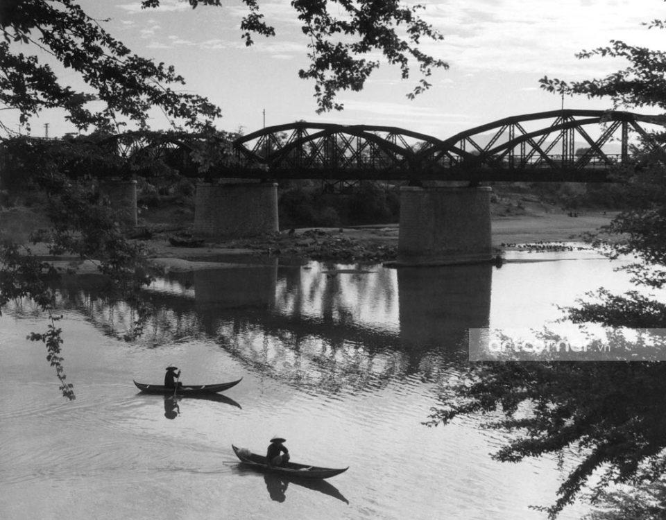 Ninh Thuận xưa - Cầu Mống ở Tháp Chàm - Mống Bridge in Tháp Chàm - Ninh Thuận - 1959