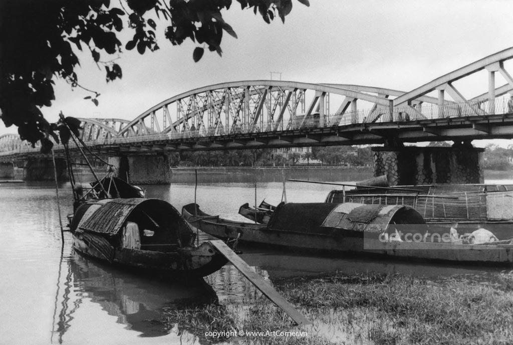 Huế xưa - Cầu Trường Tiền - Trường Tiền Bridge - Huế - 1961