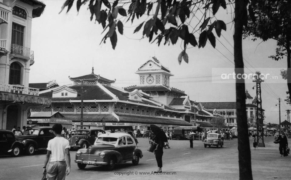 Sài Gòn xưa - Bình Tây Market - Chợ Bình Tây - Sài Gòn - 1957
