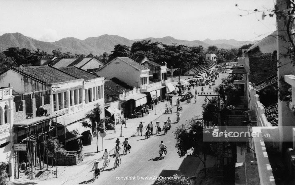 Nha Trang xưa - Đường Phan Bội Châu - Phan Bội Châu Street - Nha Trang - 1959