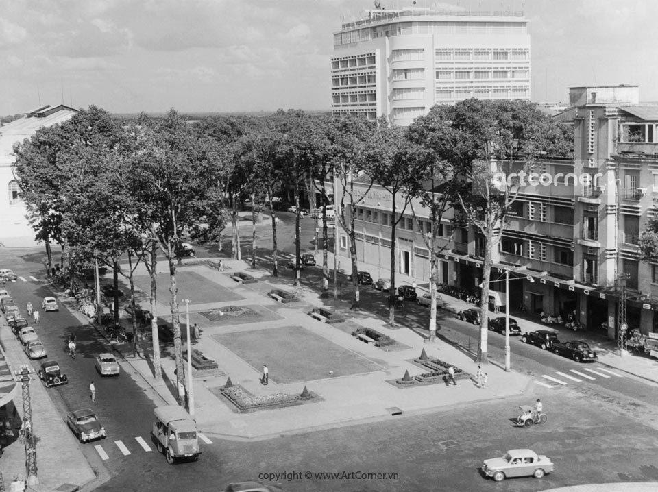 Sài Gòn xưa - Lam Sơn Square - Công trường Lam Sơn - Sài Gòn - 1961