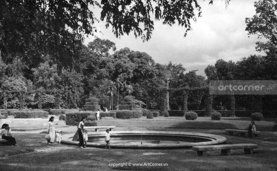 Sài Gòn xưa - Tao Đàn Park - Công viên Tao Đàn - Sài Gòn - 1957