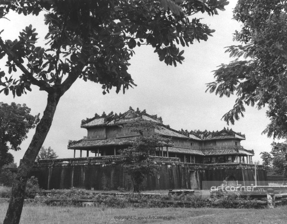 Huế xưa - Cửa Ngọ Môn - Ngọ Môn Gate - Huế - 1957