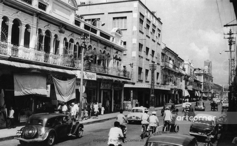 Sài Gòn xưa - Boulevard Đồng Khánh - Đại lộ Đồng Khánh - Sài Gòn - 1959