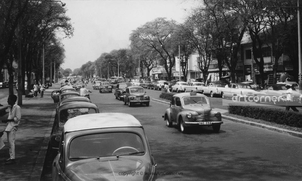Sài Gòn xưa - Lê Lợi Boulevard - Đại lộ Lê Lợi - Sài Gòn - 1959