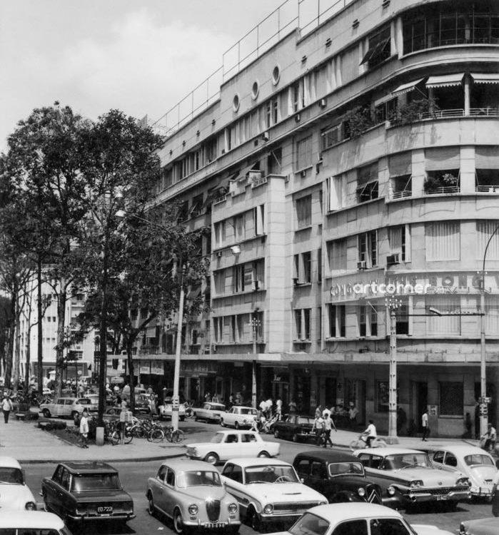 Sài Gòn xưa - Lê Lợi Boulevard And Eden Center - Đại lộ Lê Lợi và Khu tứ giác Eden - Sài Gòn - 1962