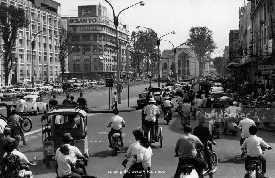 Sài Gòn xưa - Lê Lợi Boulevard - Đại lộ Lê Lợi - Sài Gòn - 1969