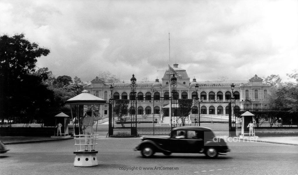 Sài Gòn xưa - Independence Palace - Dinh Độc Lập - Sài Gòn - 1959