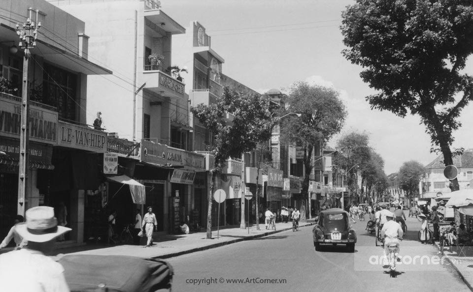 Sài Gòn xưa - Lê Thánh Tôn Street - Đường Lê Thánh Tôn - Sài Gòn - 1960