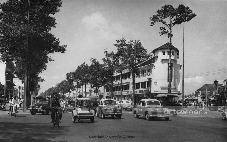 Sài Gòn xưa - Trần Hưng Đạo Avenue - Đường Trần Hưng Đạo - Sài Gòn - 1957