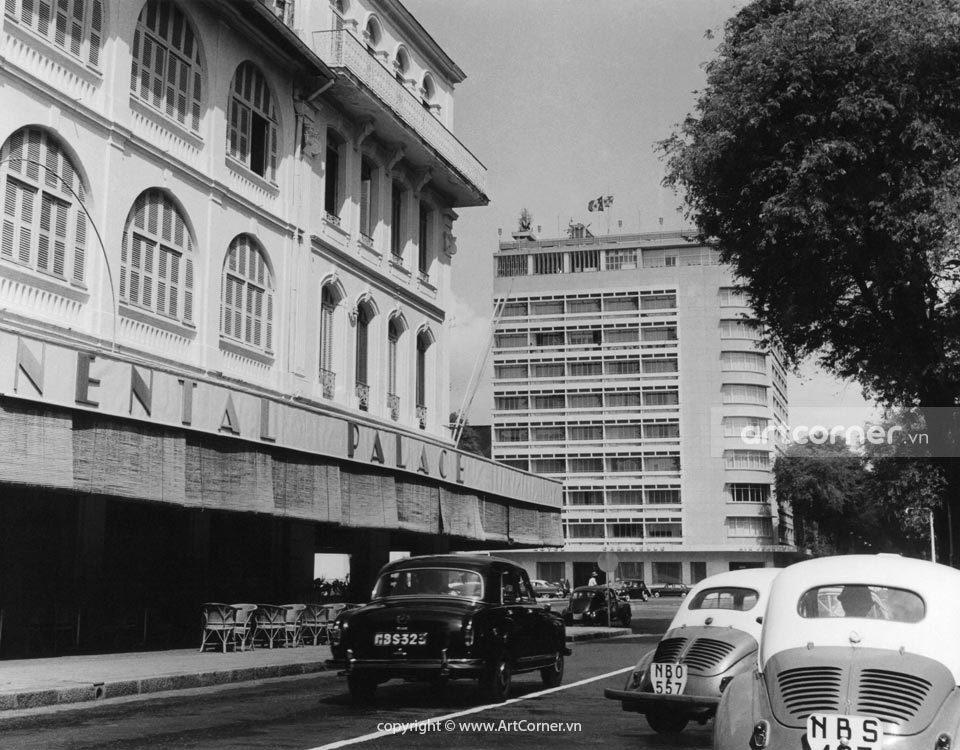 Sài Gòn xưa - Tự Do Street (Đồng Khởi street now) - Đường Tự Do (đường Đồng Khởi ngày nay) - Sài Gòn - 1960