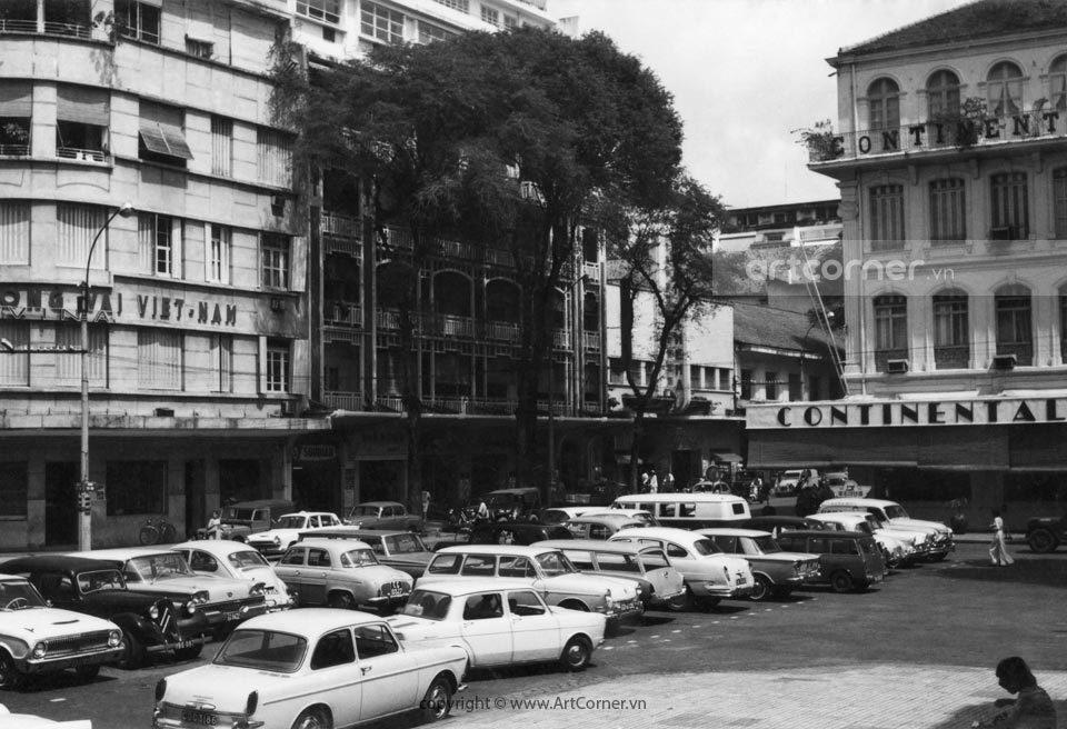 Sài Gòn xưa - Tự Do Street (Đồng Khởi street now) - Đường Tự Do (đường Đồng Khởi ngày nay) - Sài Gòn - 1962