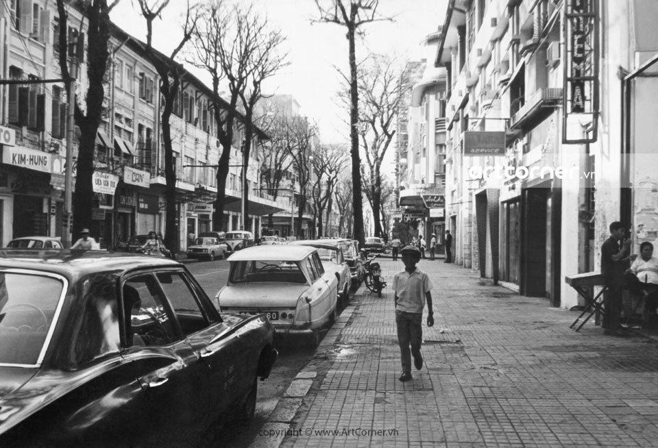 Sài Gòn xưa - Tự Do Street (Đồng Khởi street now) - Đường Tự Do (đường Đồng Khởi ngày nay) - Sài Gòn - 1964