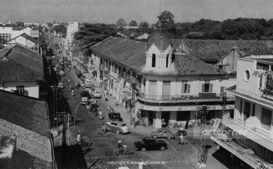 Sài Gòn xưa - Đồng Khánh - Ngô Quyền junction - Giao lộ Đồng Khánh - Ngô Quyền - Sài Gòn - 1959