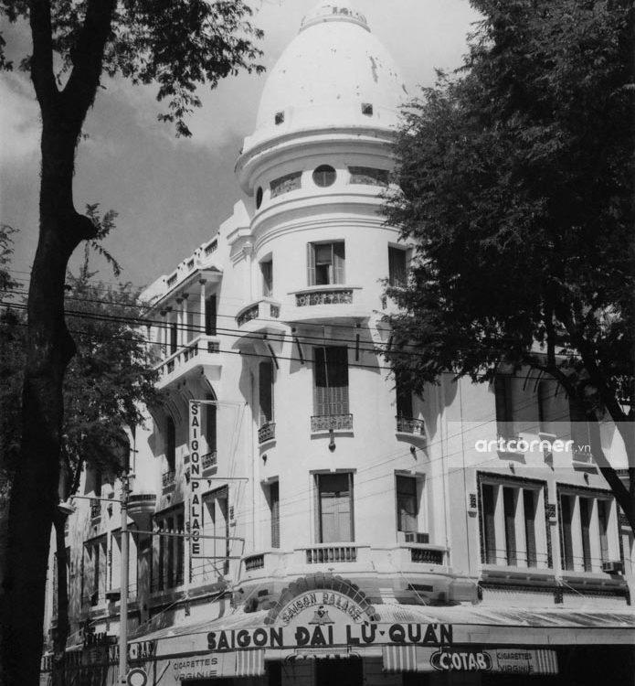 Sài Gòn xưa - Grand Hotel - Sài Gòn Đại Lữ Quán (Khách sạn Grand Hotel) - Sài Gòn - 1959