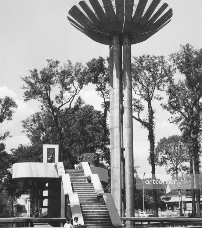 Sài Gòn xưa - Turtle Lake - Hồ Con Rùa - Sài Gòn - 1969