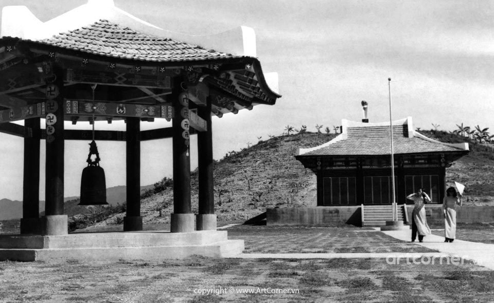 Nha Trang xưa - Hoa Lan Tự - Hoa Lan Pagoda - Nha Trang - 1973