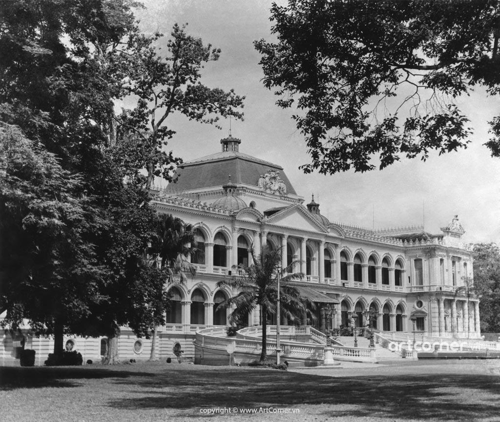Sài Gòn xưa - Independence Palace - Dinh Độc Lập - Sài Gòn - 1957