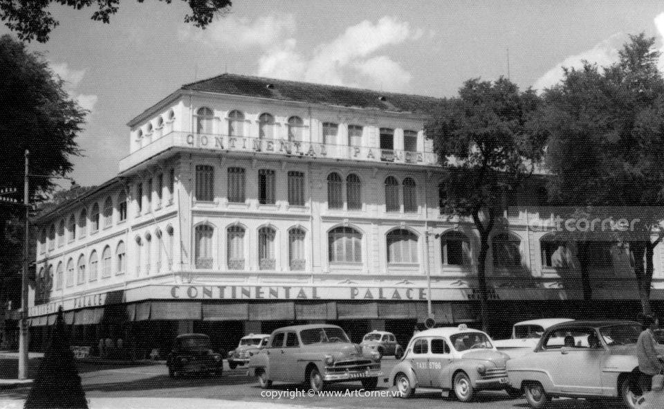 Sài Gòn xưa - Continental Hotel - Khách sạn Continental - Sài Gòn - 1957