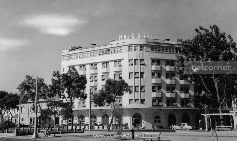 Sài Gòn xưa - Majestic Hotel - Khách sạn Majestic - Sài Gòn - 1967