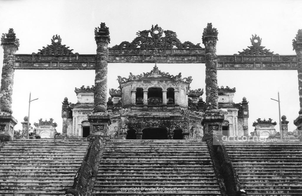 Huế xưa - Lăng Khải Định - Tomb of Khải Định - Huế - 1961