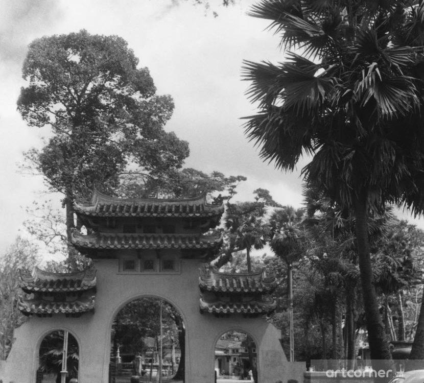 Sài Gòn xưa - General Lê Văn Duyệt mausoleum - Lăng Tả quân Lê Văn Duyệt - Sài Gòn - 1968