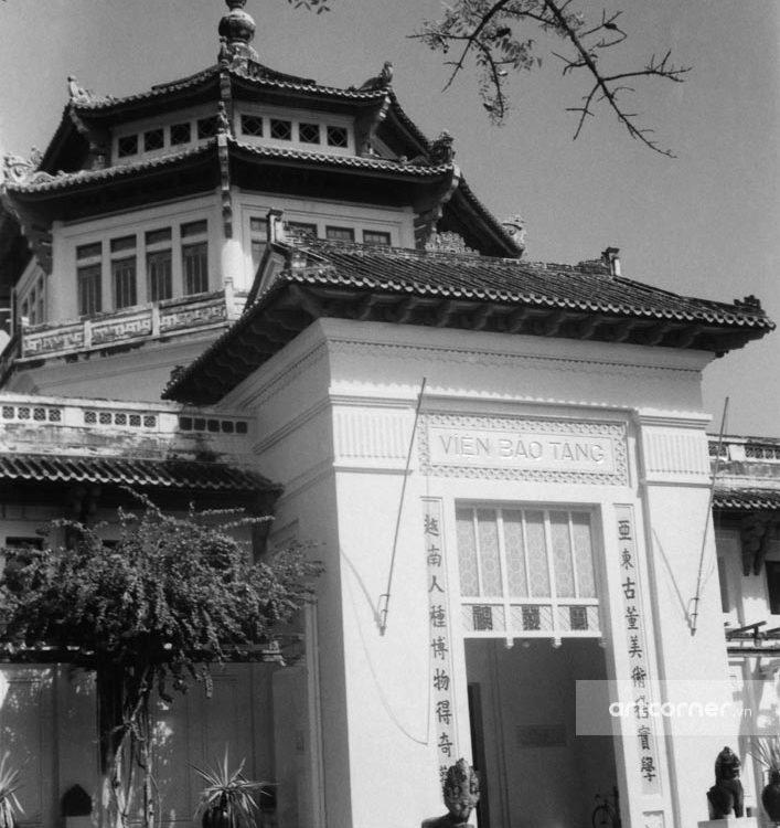 Sài Gòn xưa - The National Museum - Viện Bảo tàng - Sài Gòn - 1957