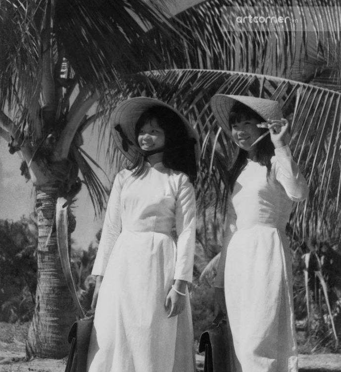 Nha Trang xưa - Nữ sinh Nha Trang - Nha Trang Schoolgirls - 1965