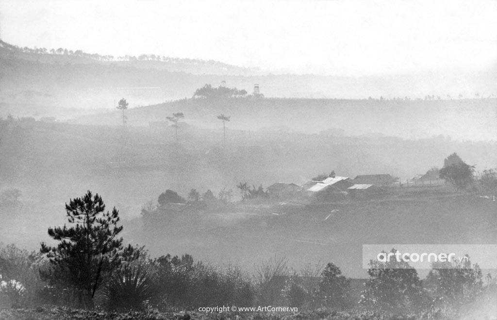 Đà Lạt xưa - Foggy Hills and Mountains - Núi Đồi Mờ Sương - Đà Lạt - 1957