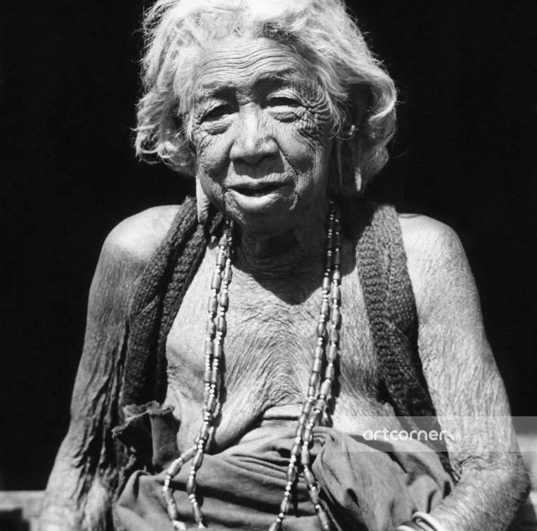 Đà Lạt xưa - The Lạch Woman in Đà Lạt - Phụ Nữ Lạch ở Đà Lạt - 1955