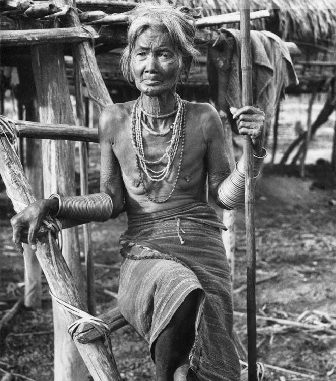 Đà Lạt xưa - The Lạch Woman in Đà Lạt - Phụ Nữ Lạch ở Đà Lạt - 1956